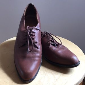Madewell 1937 brown oxfords